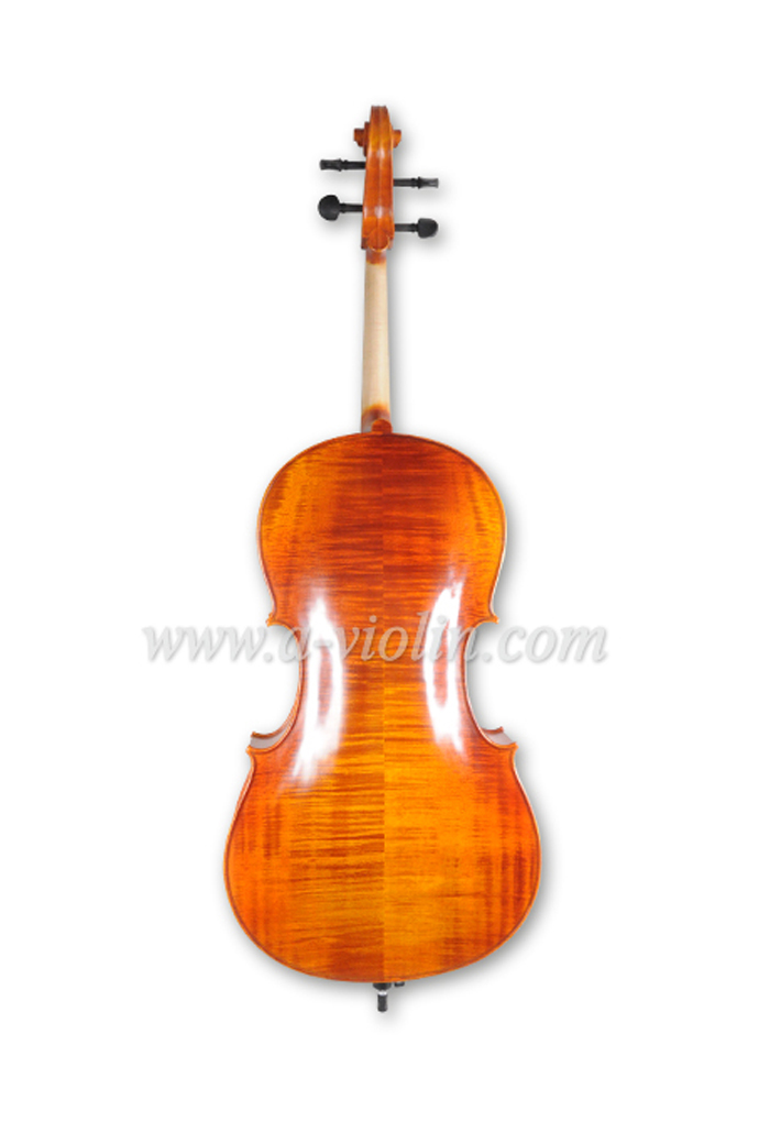 Handmade Flamed Master Spruce Cello (CH150D)