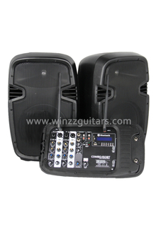 Professional Woofer Active Amplified Protable PA System ( PPS-01200MT )