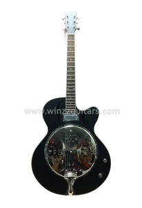 Laminated Wood Round Neck Resonator Dobro Guitar (RGS93E)
