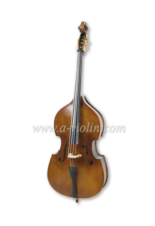 Gamba Shape Arched Back Laminated Hardwood Student Double Bass (GDB101)