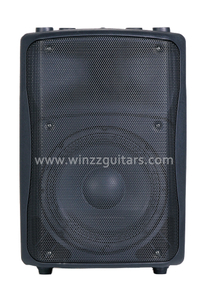 "Musical instruments 12"" Active Woofer Plastic Cabinet Audio Speaker ( PS-1012APB )"