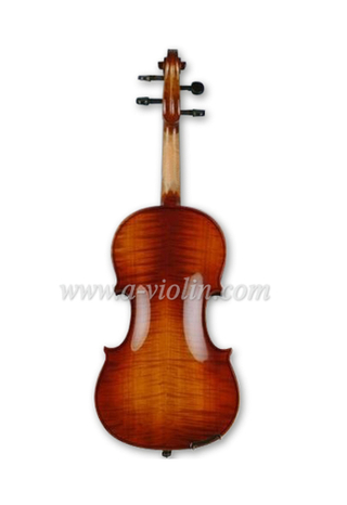 Middle Grade Flamed Professional Viola With Case (LM140)