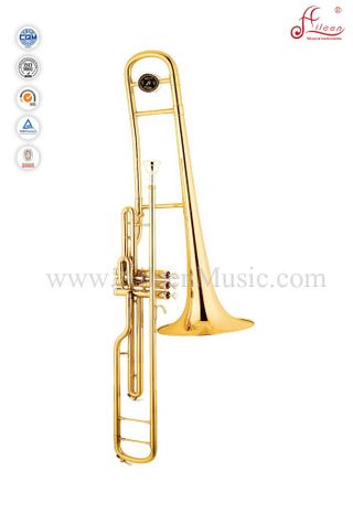 Bb Key Gold Lacquer Alto Trombone With Soft Bag (TB9003G)