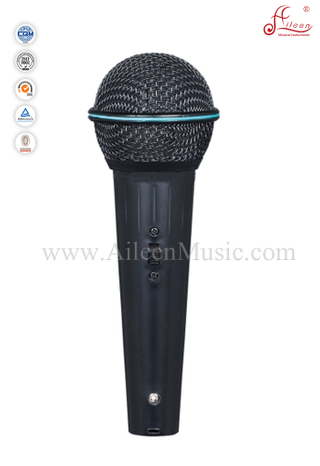 Hot sale Moving-coil MIC Plastic Wired Metal Microphones (AL-KS868B)