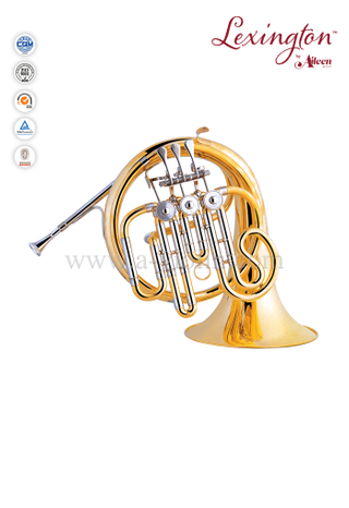 Junior 3-Keys Small French Horn Instrument (FH7038G)