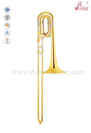 F/Bb key Gold Lacquer Bass Trombone With ABS Case (TB9201G)