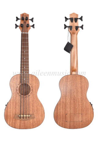 New Product Mahogany Plywood Top Ukulele Bass (AUB07LHE)