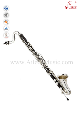 Professional 20 keys Bb key Hard Rubber Bass Clarinet (BCL3001)