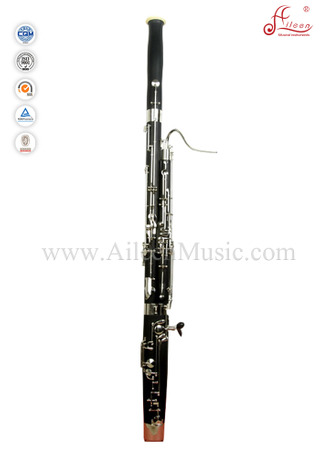 Glossy black Professional C Key 27 Keys ABS bassoon (BA7000)