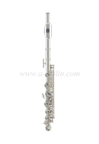 [Aileen] Silver plated finish c key piccolo (PC-G2370S)