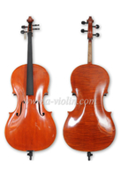 Flamed Handmade Smooth Spirit Varnish Advanced Cello (CH300Y)