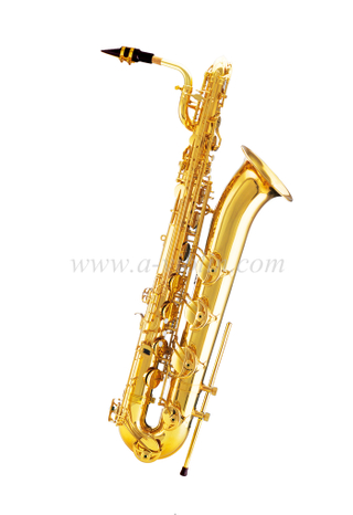 [Aileen] Gold lacquered bE baritone saxophone (BTSP-M400G)