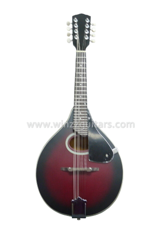 Round or F Soundhole A Style Wooden Mandolin (AM03)