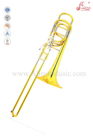 Bb/F/G/D/Eb Gold Lacquer Bass Trombone With Soft Bag (TB9203G)