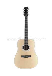 Dreadnought 41 Inch Acoustic Guitar (AF48)