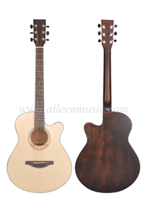 40 Inch Solid Spruce Top High Quality Machine Head Acoustic Guitar (AFM-H10-40)