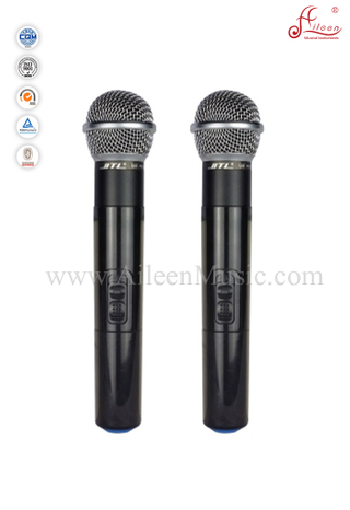 (AL-SE2019)Professional FM UHF Fixed Dual Channel Wireless Microphone