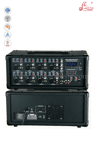 Professional 8 Channel Mobile Power PA Amplifier With EQ (APM-0815BU)