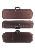 High Density Foam Oval Shaped Deluxe Light Violin Case (CSV051)