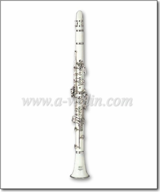 White Color 17 Keys ABS Clarinet