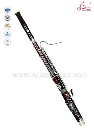 Professional Matt Red 25 keys C key Maple Bassoon (BA7001)