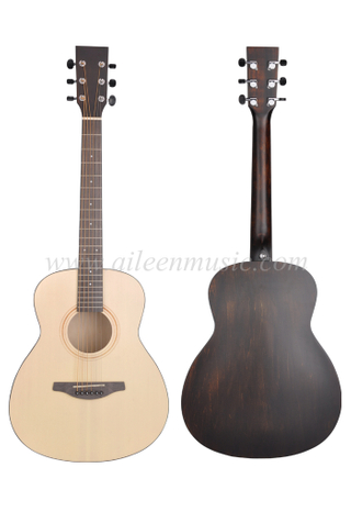 36 Inch GS Mini Style Body High Density Man-made Wood Fingerboard And Bridge Acoustic Guitar (AFM-H10-36)