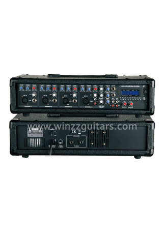 Professional Amplifier Speaker 4 Channels 3 Band EQ Mobile Power Audio Amplifier (APM-0415U)