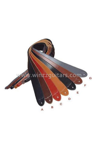 High Quality Colorful Leather Guitar Straps (SL902)