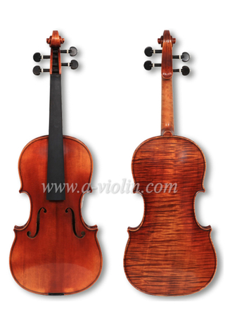 Conservatory Violin, Master Violin, 4/4 Old Antique violin(VH800E)