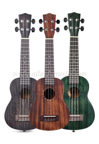 China Ukulele Manufacturers All Mahogany Plywood Student Ukulele (AU-H07A)