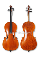High Grade Handmade Flamed Advanced Spruce Cello (CH150T)
