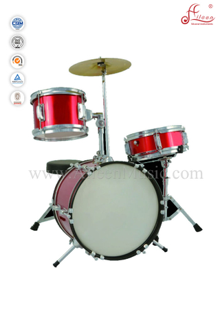3-PC Junior Drum Set/Mini Drum Set (DSET-60B)