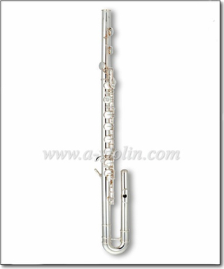 Professional 14 keys Silver plated Bass Flute (FL4711S)