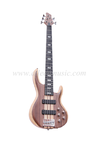 Ash & Walnut Body 5 Strings Electric Bass (EBS715-2)