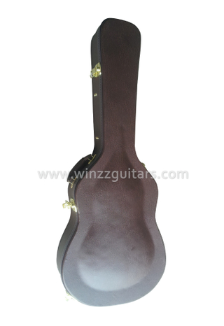 Quality Leather Exterior Classical Guitar Hard Case (CCG420)