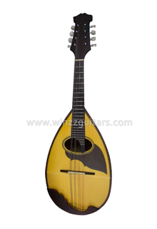 Solid Spruce Top Round Back Japanese Mandolin (AM30J)