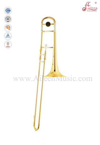 Bb Key Gold Lacquer Tenor Trombone With ABS Case (TB9131G)