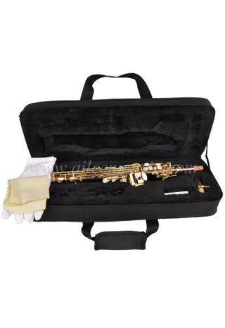 General Grade bE Rose Brass Body Sopranino Saxophone with Premium Case(SPSP-G320G-RB)